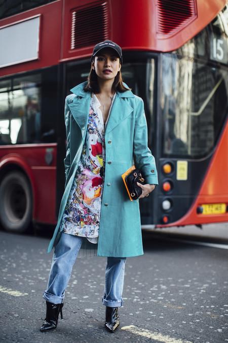 street style londres semana moda color