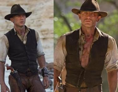 Daniel Craig tú si que eres un pedazo de cowboy y no Lucky Luke