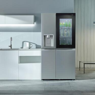 Con más visibilidad interna e higienización ultravioleta, así es el frigorífico LG del futuro que ya es presente