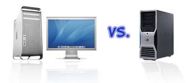 Comparativa entre un Mac Pro y un Dell Precision 690