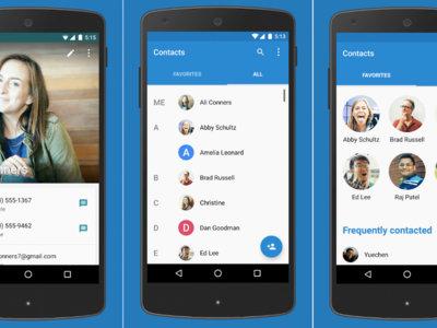 Google Contacts 1.5 facilita encontrar los contactos duplicados y mejora su interfaz