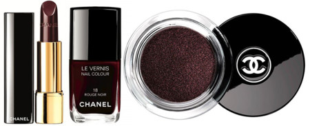 Chanel Rouge Noir Absolument Makeup Collection1