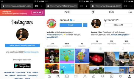 Todo lo que podemos hacer en Instagram sin instalar la app: subir stories, guardar fotos y más