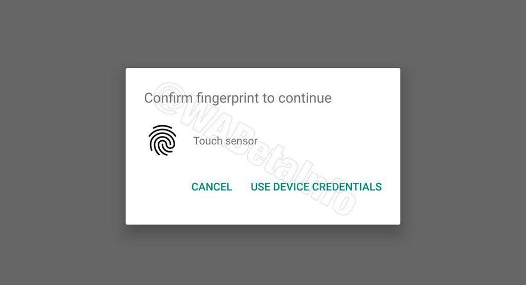 Próximamente en WhatsApp para Android: protección de tus chats mediante huella digital