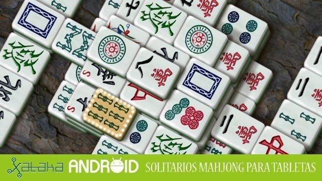 Solitarios Mahjong para tabletas