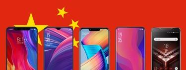 Los mejores móviles chinos de 2018