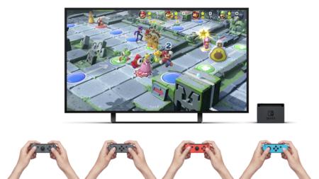 Super Mario Party no es compatible con el Pro Controller, y tiene su lógica