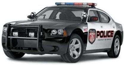 El Dodge Charger se pone el uniforme de patrulla