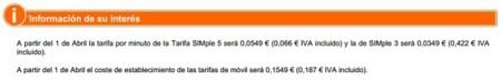 Subidas de precios de Euskaltel