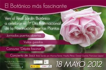 Primer Día Internacional de la Fascinación de las Plantas en el Botánico