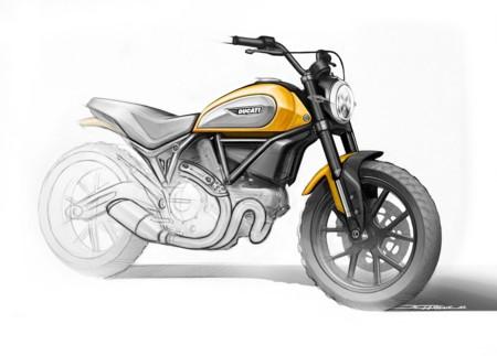 Pues sí, han cazado la Ducati Scrambler 400 a pocos días de su presentación