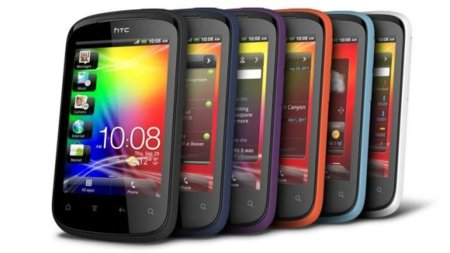 HTC Explorer en colores