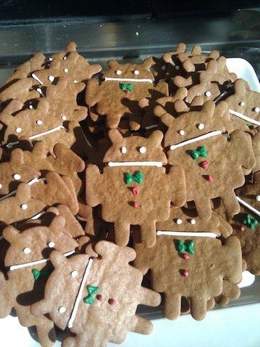 Imagen de la semana: Gingerbread sale por fin del horno. Nos referimos a las galletas