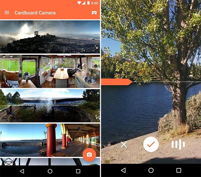 Google lancia Cartone Camera, applicando per scattare foto di Realtà Virtuale