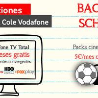 Vodafone regala su mayor paquete de TV durante un año y 25 GB a todos los clientes de packs convergentes