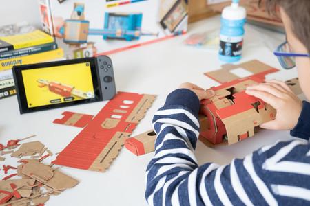 Una semana con Nintendo Labo: lo asombroso del pack cartón+niños está en el camino y no el juguete final