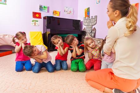 Niños en la Escuela Infantil