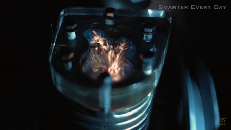 Motor Explosion Slow Motion