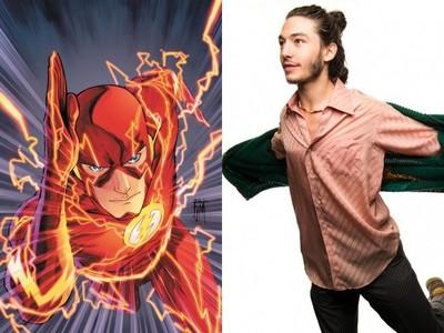 Ezra Miller, sorprendente protagonista para 'The Flash'
