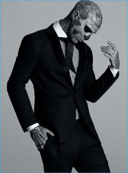 Rick Genest regresa al spotlight