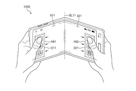 Patente Samsung plegable