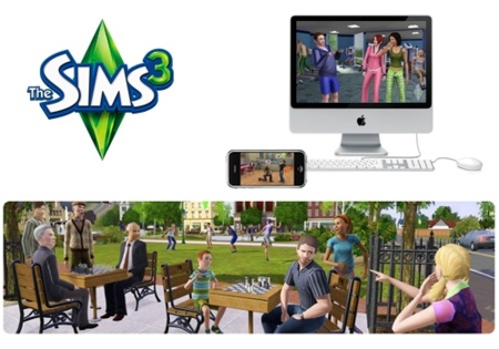 Sims 3 disponibles para Mac y iPhone/iPod Touch