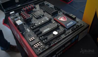 Toda la nueva generación de placas Z97 de MSI, entre otros, ya están en el mercado