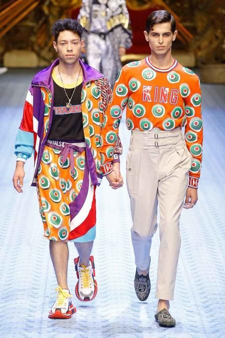 Dolce Gabbana Y Su Ejercito Millennial Apuestan Por La Inclusion En Su Coleccion 2019 En Milan 02
