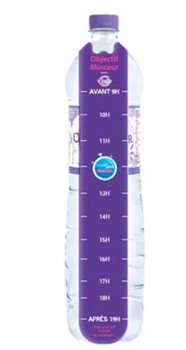 Truco para beber los 1,5 litros de agua diarios