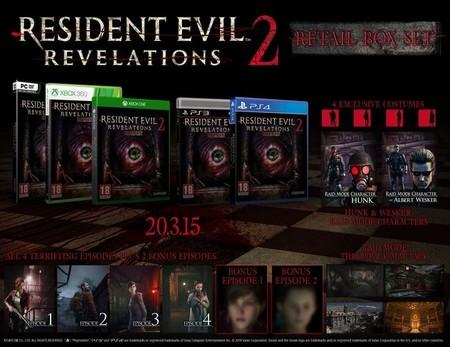 Resident Evil Revelations 2 necesita un poco más tiempo de cocción