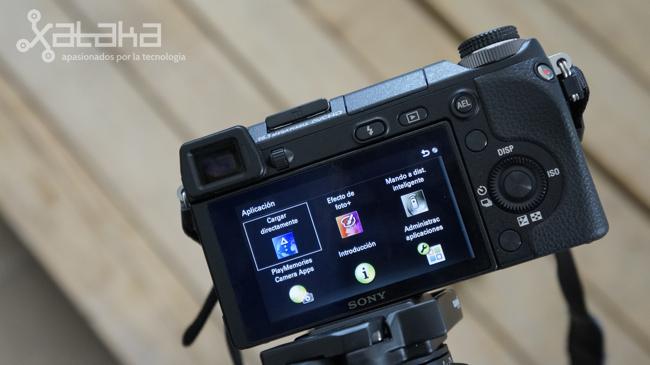 Sony NEX 6 análisis pantalla y visor OLED