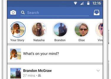 Facebook tendrá sus propias 'stories': llega la copia de la copia de Snapchat