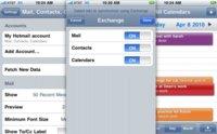 Hotmail ahora sincroniza correo, contactos y calendario con móviles vía Exchange ActiveSync