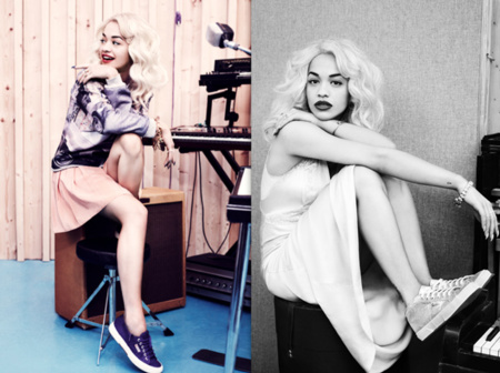 Rita Ora sustituye a Alexa Chung como imagen de Superga
