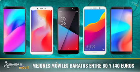 Los mejores móviles baratos alrededor de 100 euros