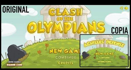 'Clash of the Olympians' y 'Achilles' Defense', el caso más flagrante de copia que he visto nunca
