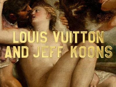 Louis Vuitton reinterpreta el arte como nadie con su colaboración con Jeff Koons