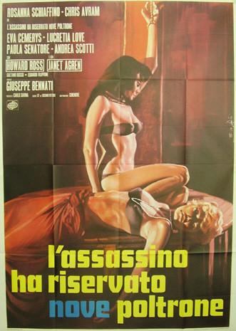 Añorando estrenos: 'El asesino ha reservado nueve butacas' de Giuseppe Bennati