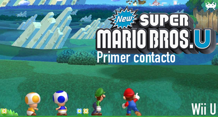 'New Super Mario Bros. U' para Wii U: primer contacto