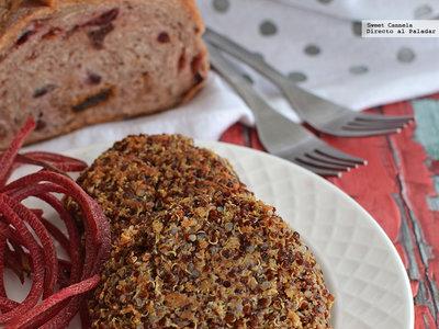 Hamburguesas de quinoa. Receta vegetariana