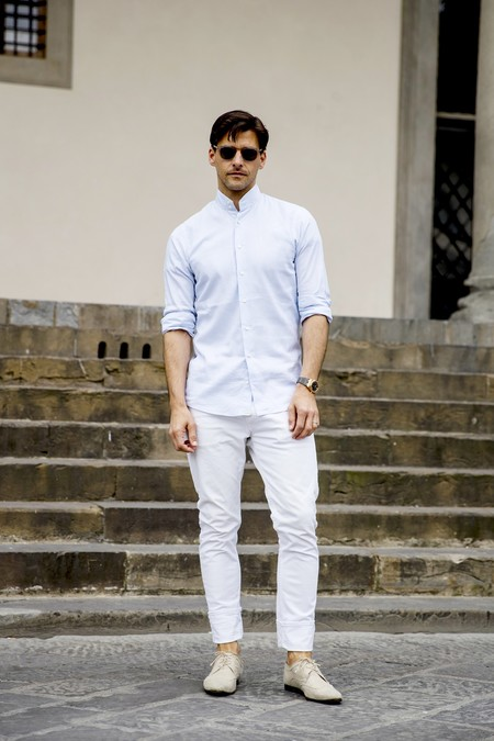 Pantalones Blancos 16
