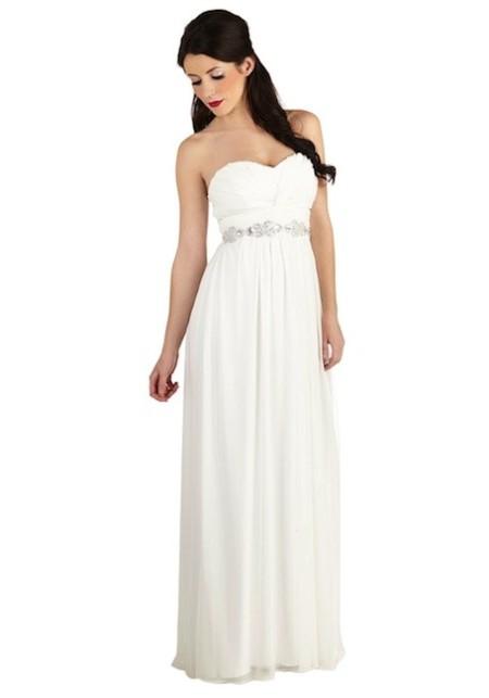 vestido largo novia tul modcloth