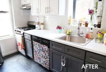 Antes y despu s eligiendo colores para renovar los - Modernizar muebles antiguos ...
