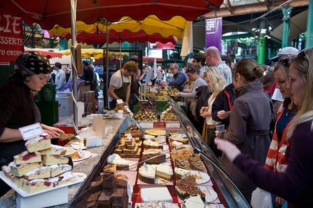 1024px Borough Market Cake Stall London England Oct 2008