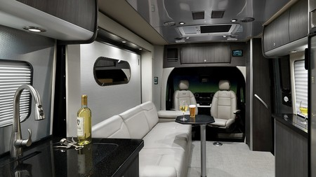 My2020 Airstream Atlas Interior Modern Greige Tables Up B2f