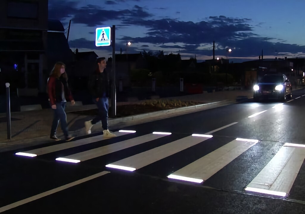 Los pasos de peatones