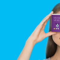 Microsoft le apuesta también a la realidad virtual con su propia versión de las Google Cardboard