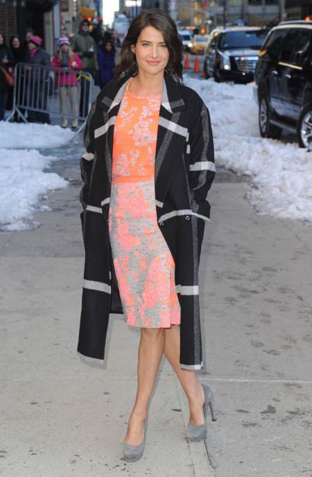 Cobie Smulders Katharine Kidd look