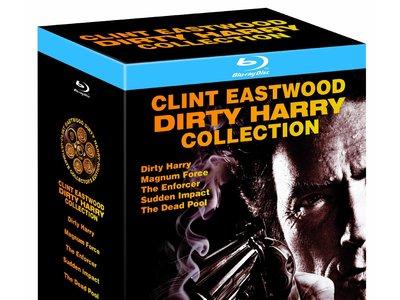 Por sólo 11,99 euros te llevas las 5 películas de Harry El Sucio en Blu-ray