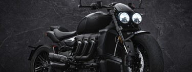 ¡Siniestras! Las Triumph Rocket 3 Black Edition se bañan de negro en sólo 1.000 unidades para todo el mundo